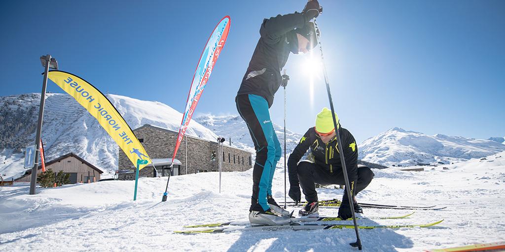 Nordic Friday Rent Andermatt Langlauf Miete Verleih